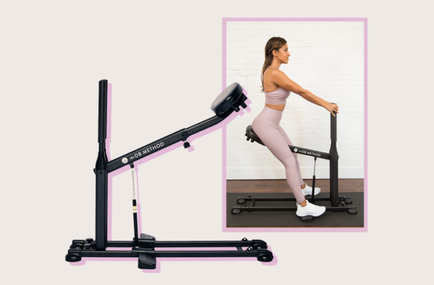 This form-correcting, at-home squat machine truly has your back