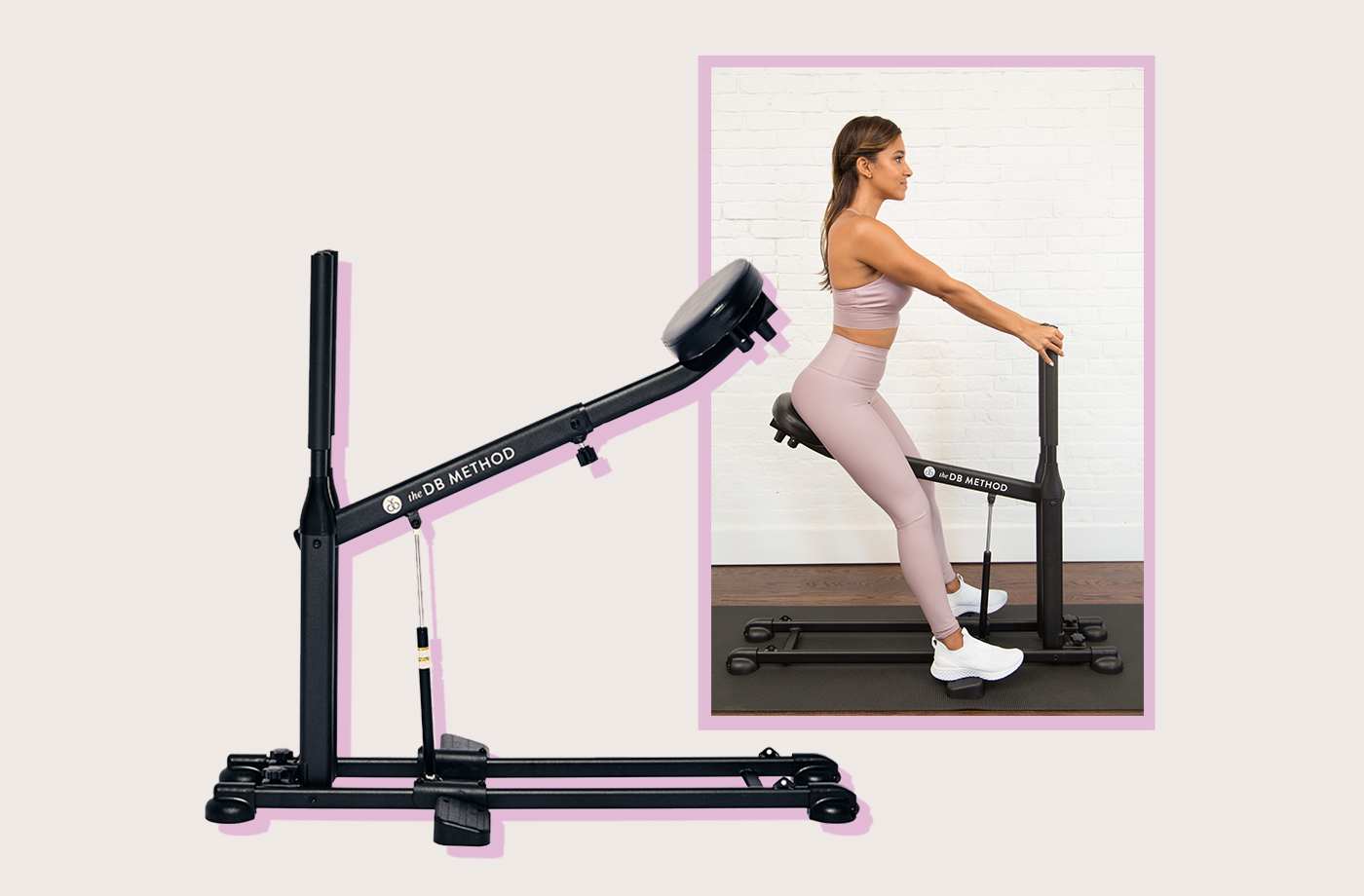 Thumbnail for This form-correcting, at-home squat machine truly has your back