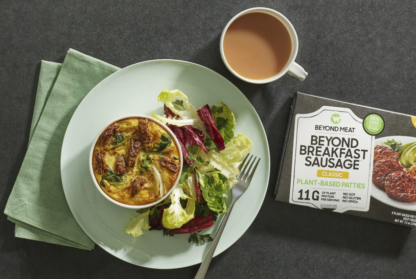 Beyond Meat's New Breakfast Sausage Is Here to Take on Pork