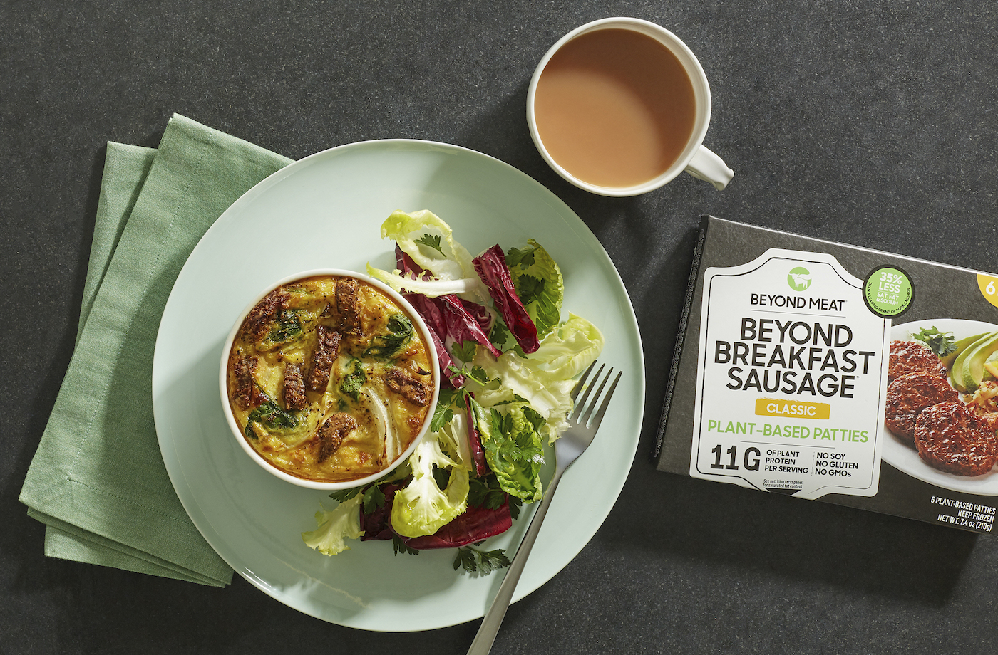 Thumbnail for Beyond Meat's New Breakfast Sausage Is Here to Take on Pork