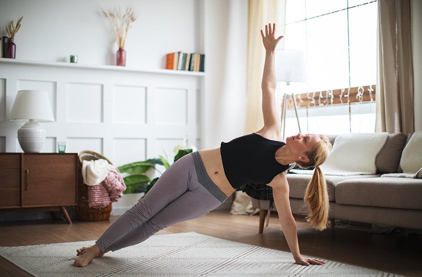 Thumbnail for Here's the best at-home Pilates workout based on your specific goals