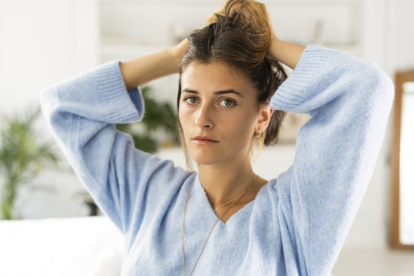Yes, stress makes your hair greasier