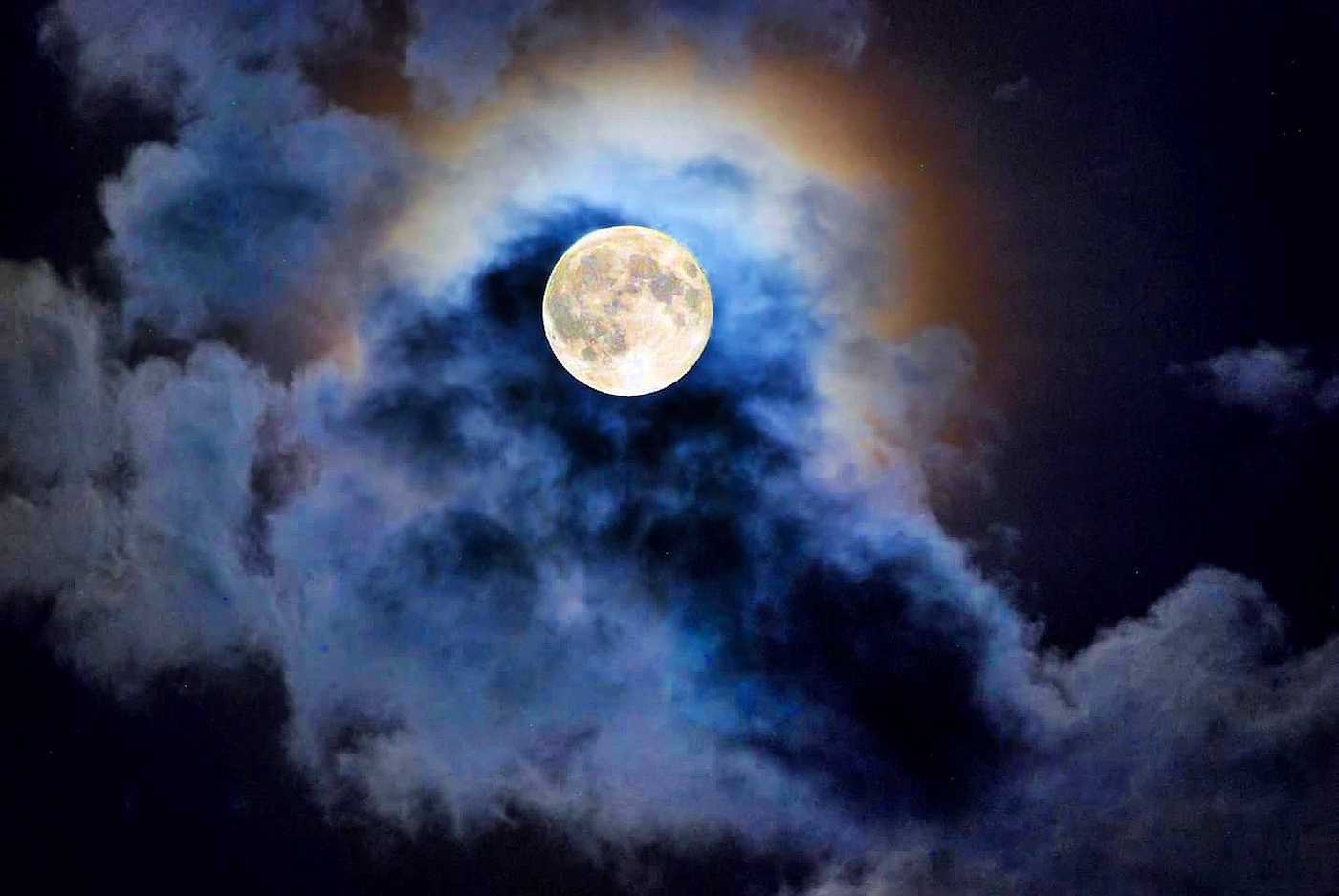 Thumbnail for This Month's Full Worm Moon Is Also a Supermoon—Here's What That Means for Your Sign