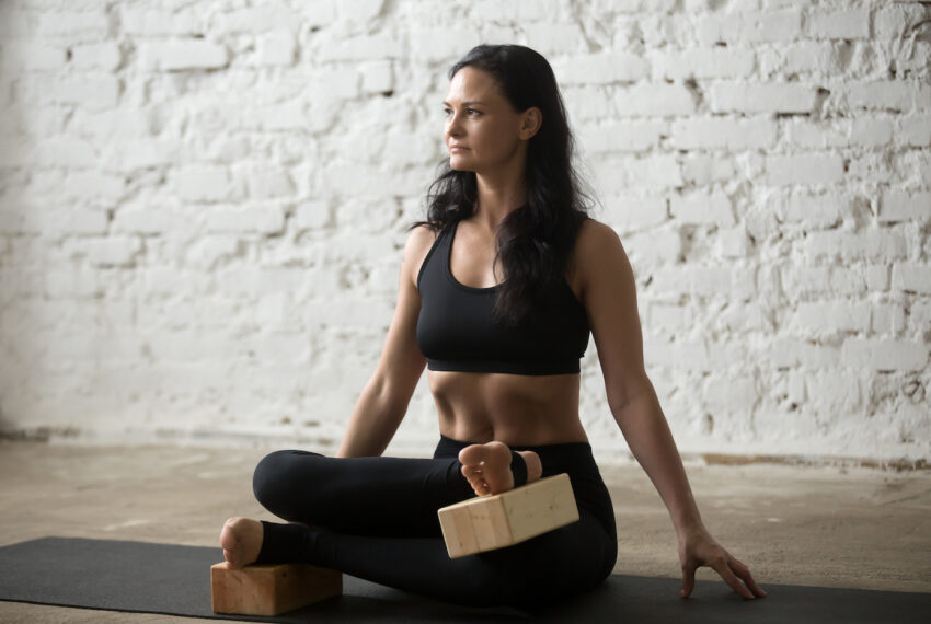 Sorry, Pigeon Pose: the 'Fire Log' Gets Way Deeper Into Your Hips