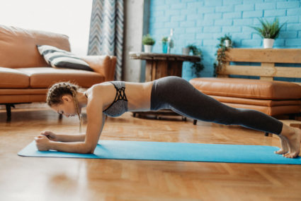 Flow through this at-home Pilates workout for better hip mobility (and, of course, core strength)