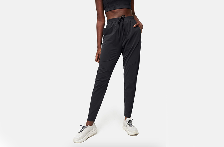 Outdoor Voices The OV Track Pant, best black sweatpants