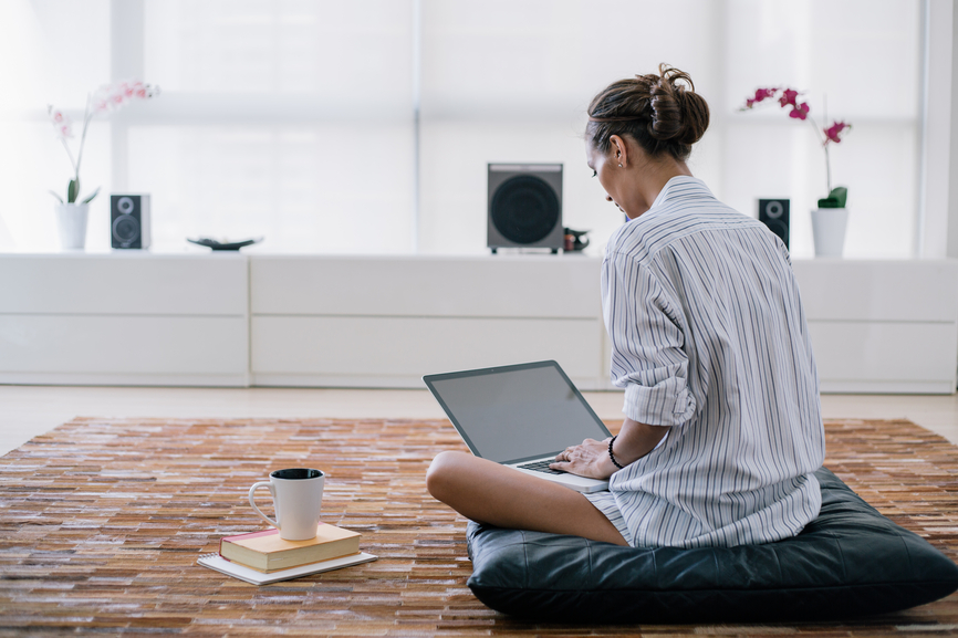 Thumbnail for The Best and Worst Places to Sit When Working From Home, According to Posture Pros