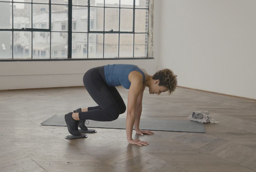 Literally glide through you next intense workout with these slider disc exercises