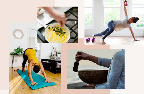 Self care doesn't have to be complicated—here's how to join Well+Good for a series of *free* soothing activities