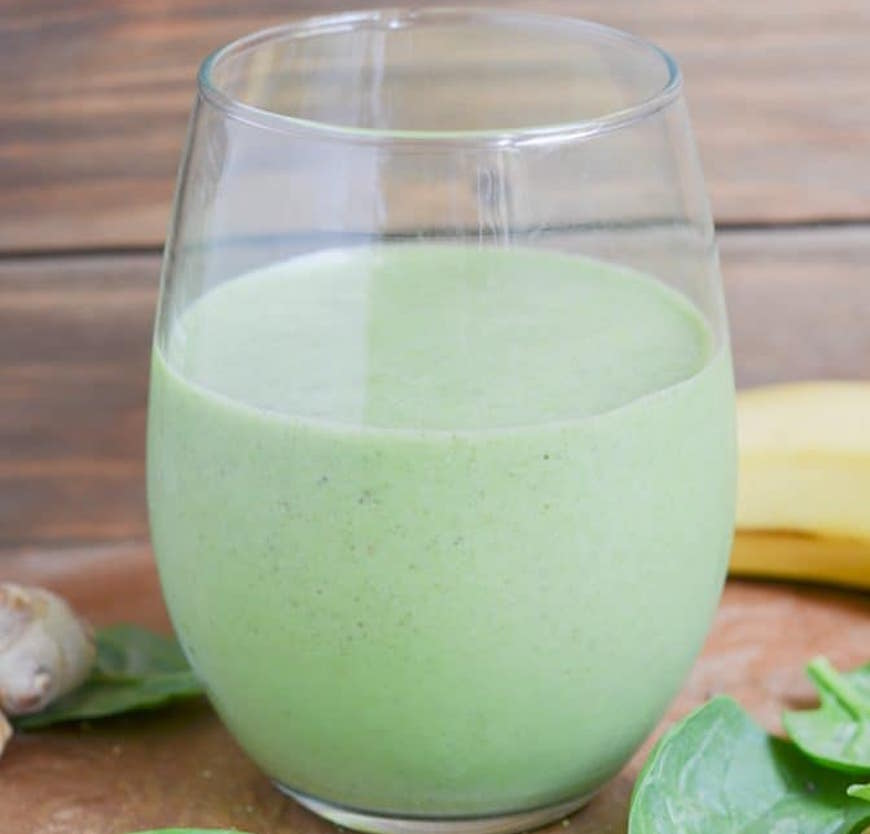 green anti-inflammatory smoothie