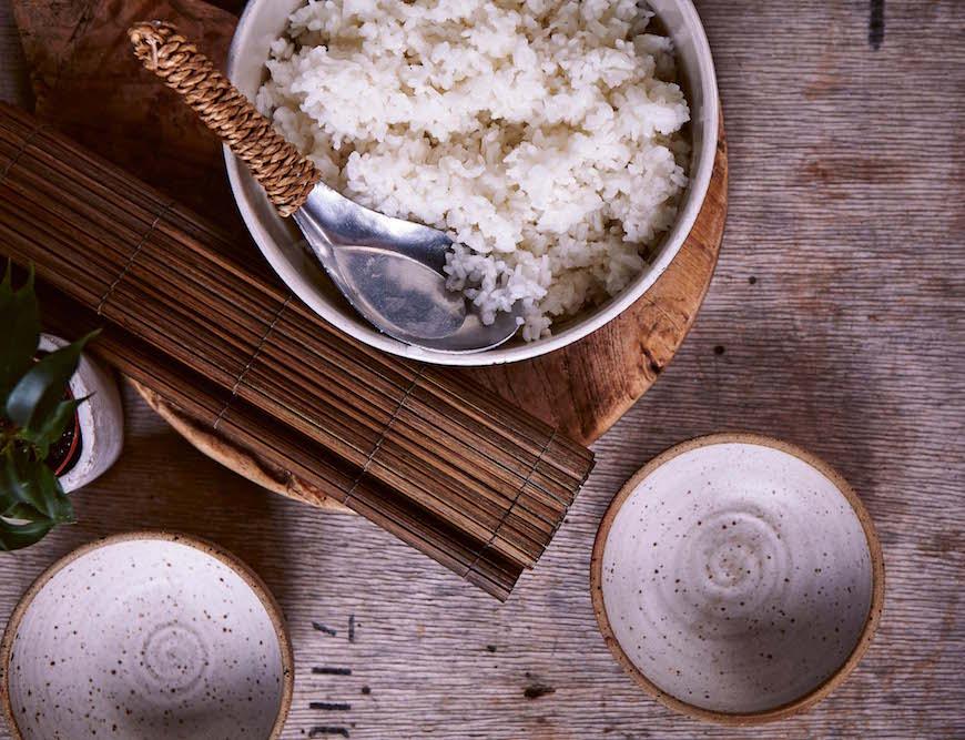 how to make white rice