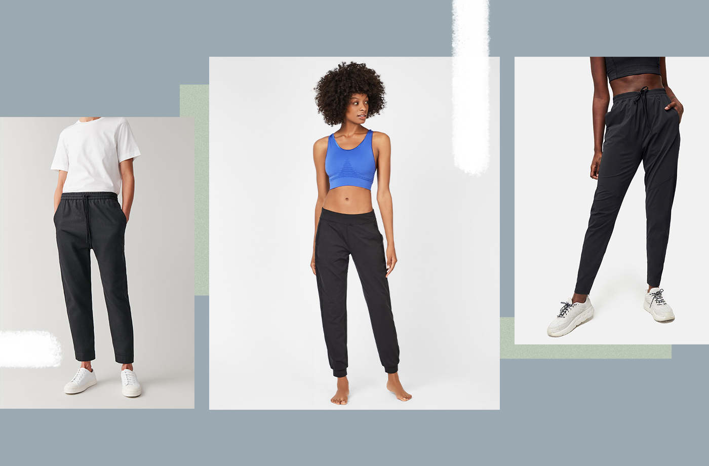 Thumbnail for The 8 Best Black Sweatpants to Elevate Your Comfortable Stay-at-Home Look
