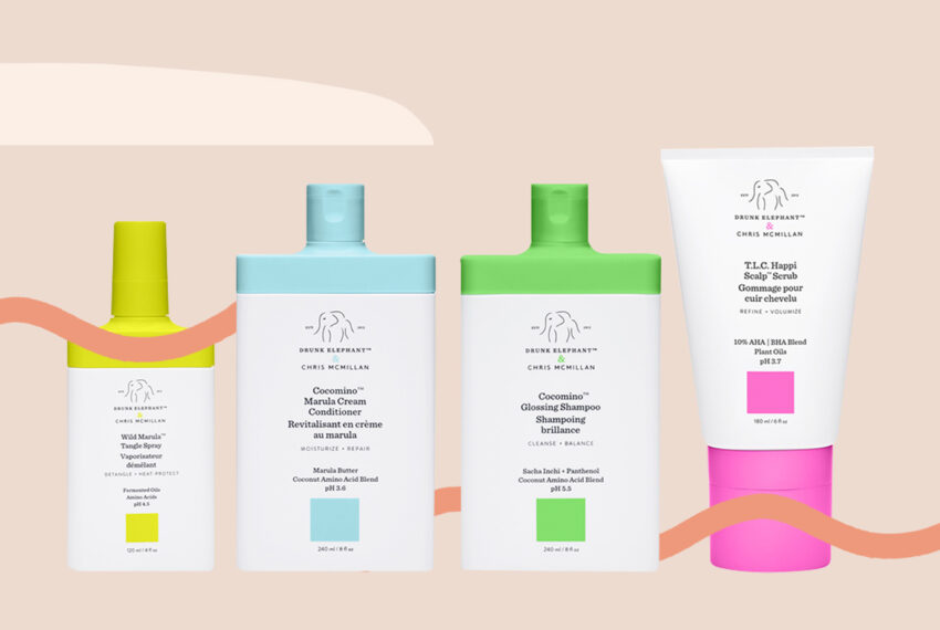 Drunk Elephant Is Brightening up Your Shower With Hair Care That Puts the Scalp First