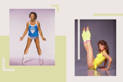 These '80s Workout Video Stars Are Back Just in Time to Help You Break a Sweat at Home