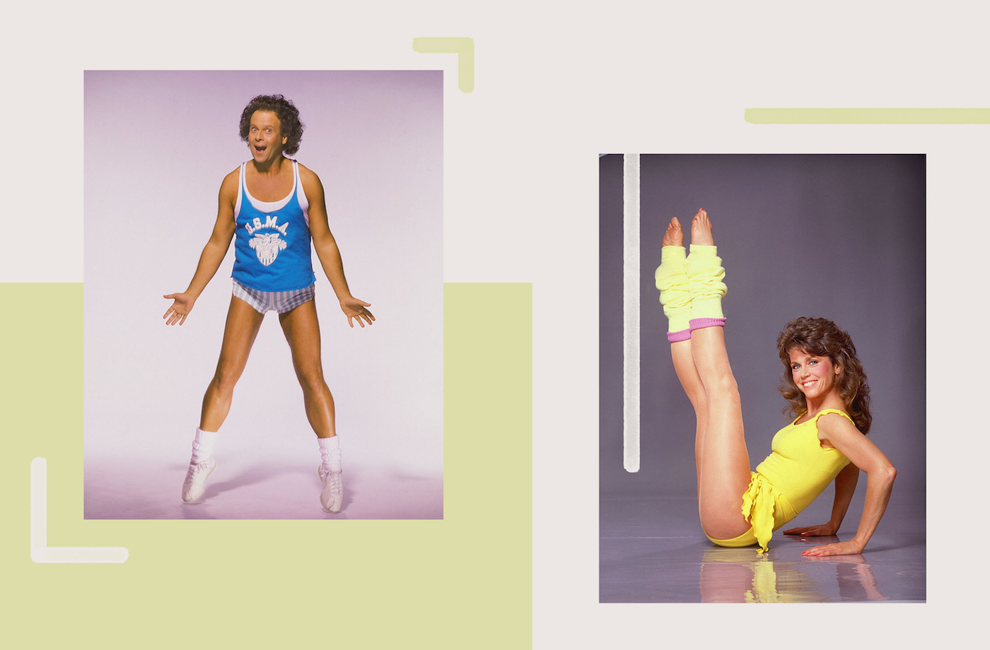 Thumbnail for These '80s workout video stars are back just in time to help you break a sweat at home