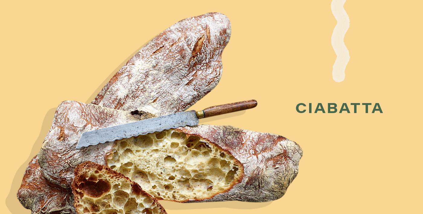 Ciabatta, homemade bread recipes