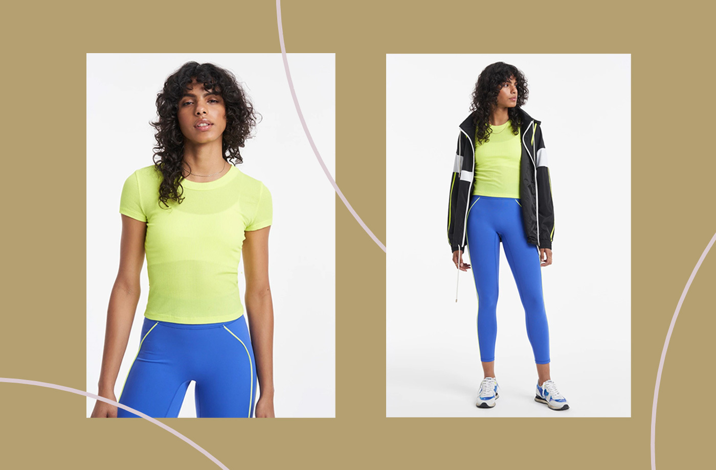 Thumbnail for The Ultimate Cool-Girl Athleisure Shop Is Having a Private 40% Off Sale—Here's What We're Buying