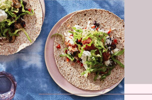This healthy, high-protein, vegan burrito recipe is about to become your new favorite easy dinner