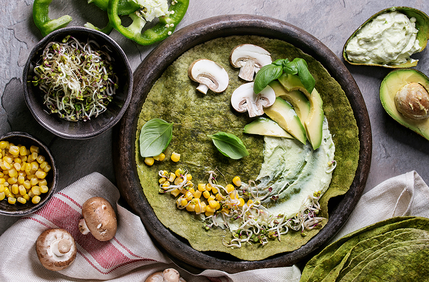 Thumbnail for It's Easy to Make Your Own Healthy Spinach Tortillas With Just 4 Ingredients