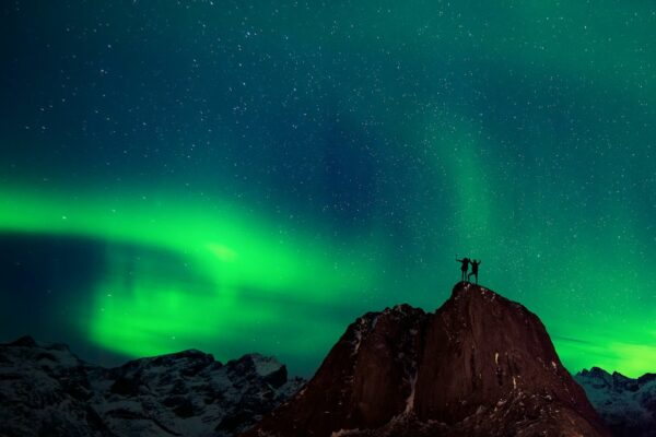 Watch the northern lights via livestream to—at the very least—transport your mood to a brighter level