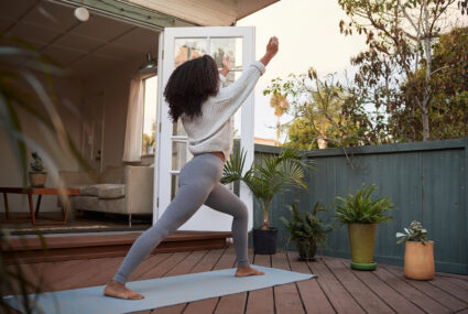 The best type of yoga to wake you up *and* help you fall asleep