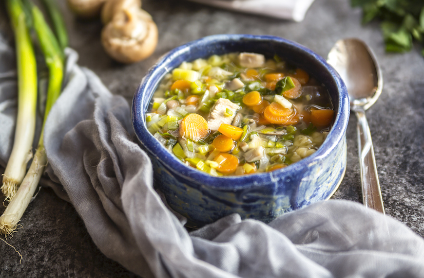 5 ingredient healthy canned soup