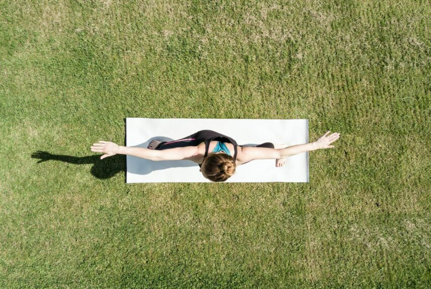 How to *really* clean your yoga mat