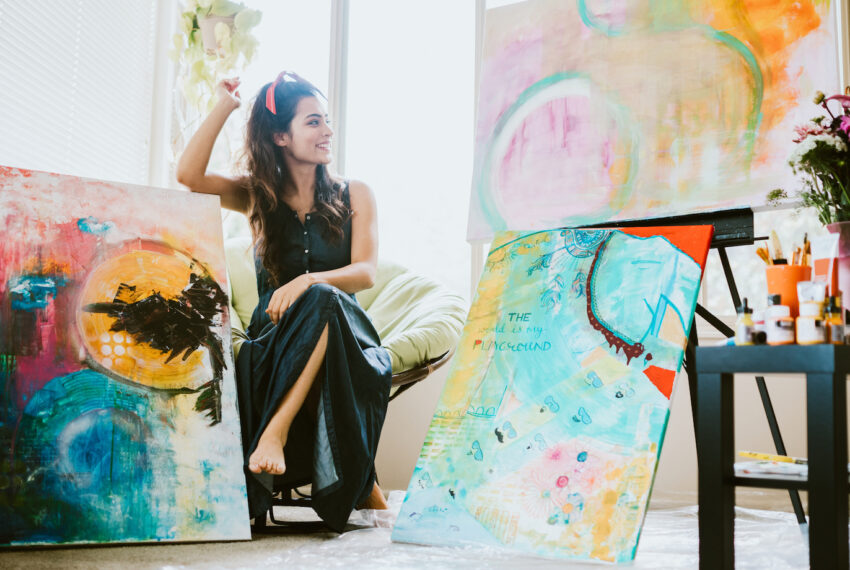 How to Set an 'Art Trap' in Your Home That Catches Creativity When Your Mental Health Needs It Most