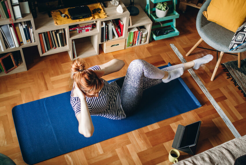 This 30-minute full-body Pilates workout is a low impact way to get your sweat on