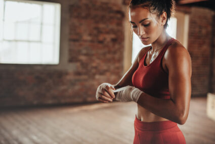 A boxing pro shares the key 4 tips to punching it out at home