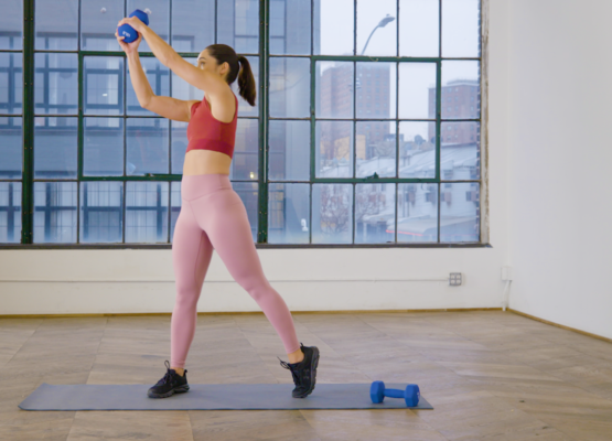 This move will fire up your arms and obliques with nothing more than a single...