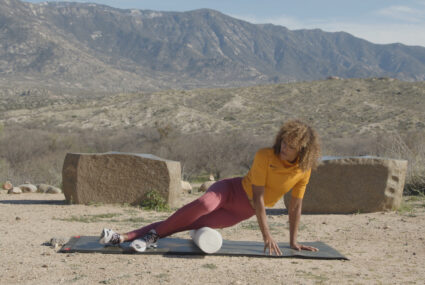 This 5-minute foam rolling routine doubles as a massage for your most-used muscles