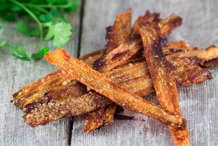 The healthiest vegan bacon substitute takes only minutes to make