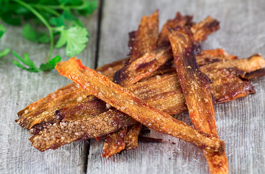 Thumbnail for The Healthiest Vegan Bacon Substitute Takes Only Minutes to Make