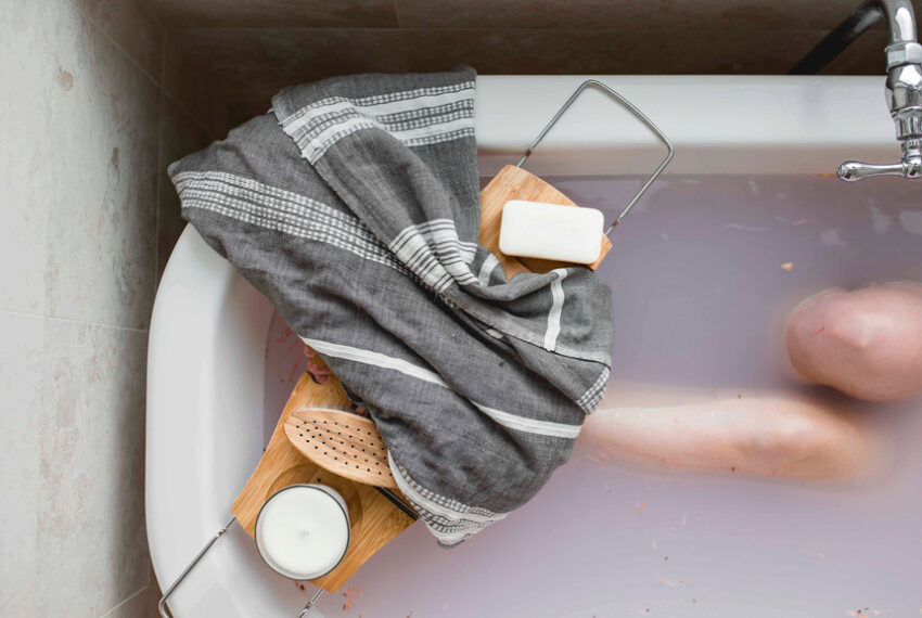 A Hot Bath Can't Solve Everything, but It Can Lower Stress—Here's How to Make Your Soak Even More Relaxing