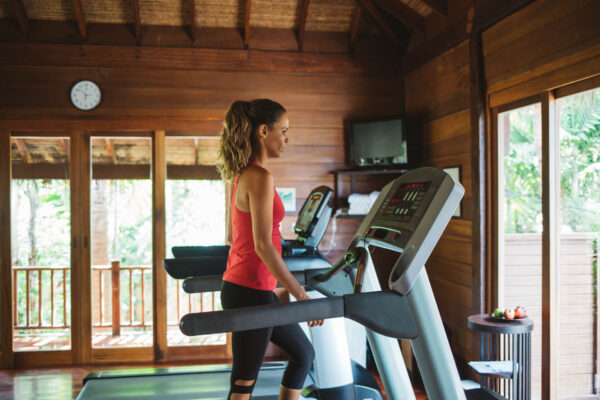 Use your treadmill to get the hardest abs and glutes workout of your life—no running required