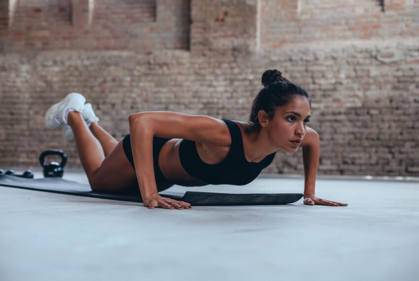 Why you should never, ever do push-ups from your knees, according to a trainer