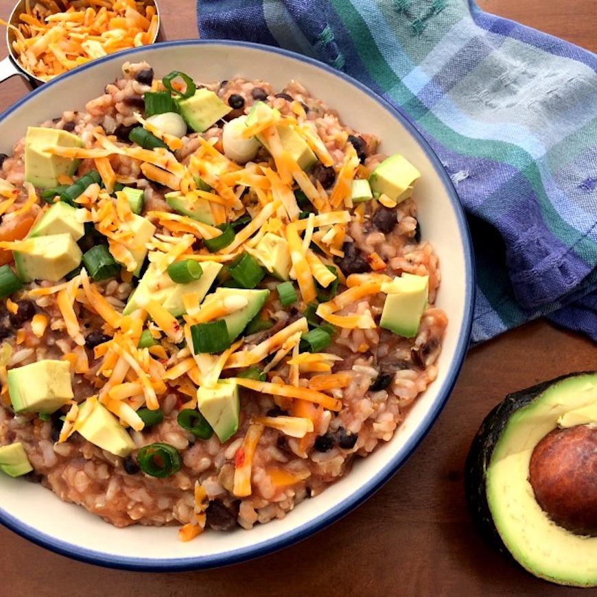healthy burrito bowl recipe