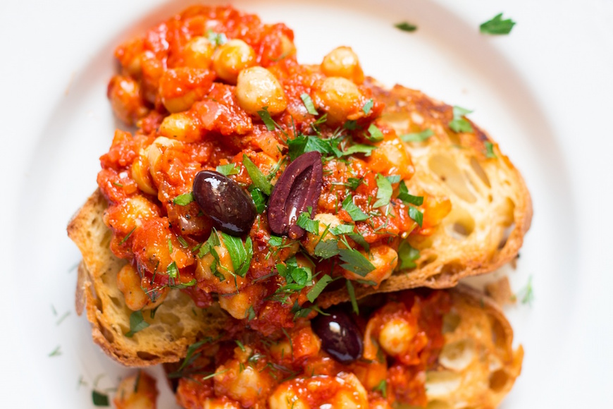 cheap breakfast ideas with chickpeas