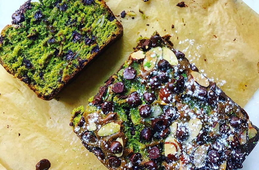 Thumbnail for This vegan chocolate-matcha banana bread is the best part of waking up