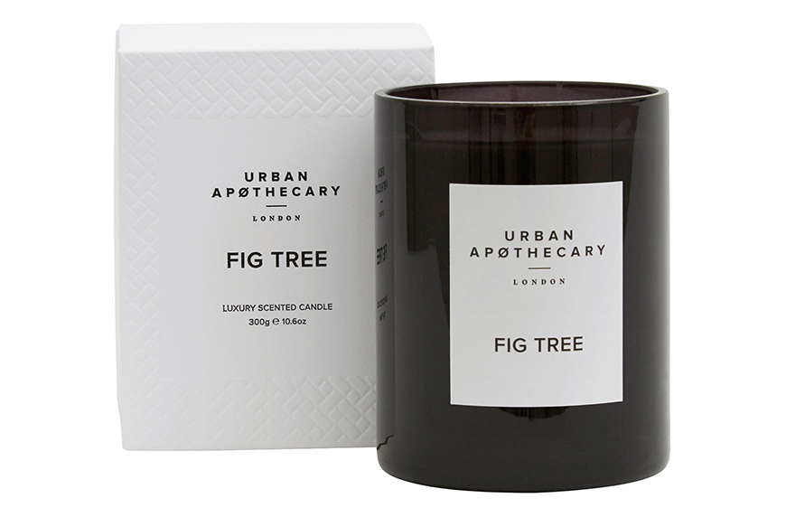 Urban Apothecary Fig Tree, calming candles