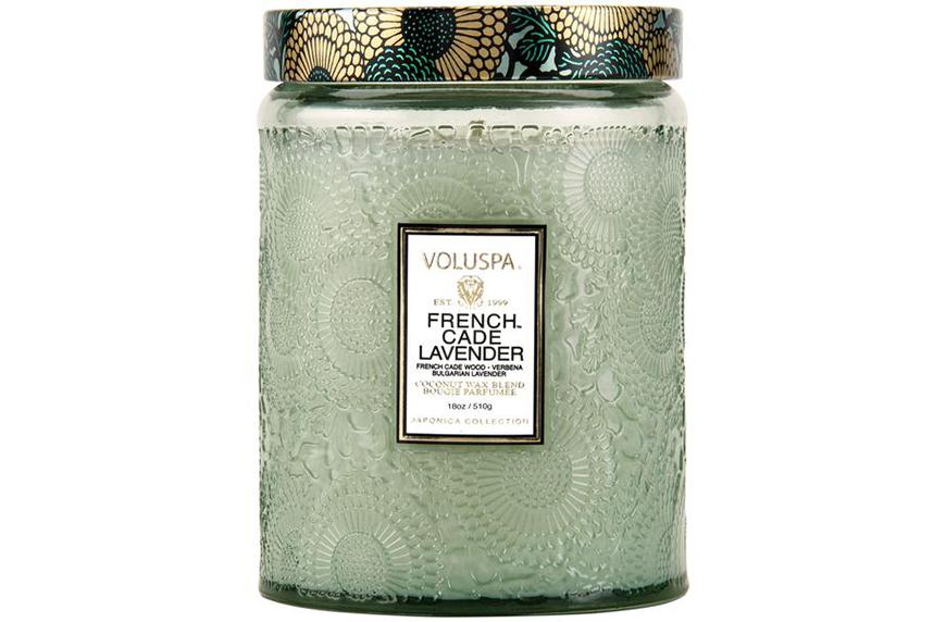 Voluspa French Cade Lavender, calming candles