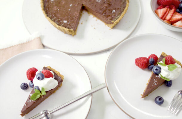 Chocolate-Lovers, Rejoice: This Delicious, Gluten-Free Tart Can Be Enjoyed by Almost Anyone