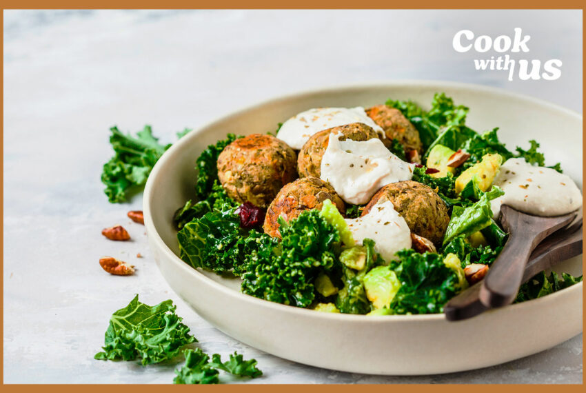 These easy, protein-packed chickpea meatballs work in *so* many different meals