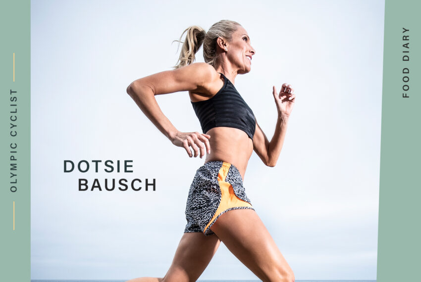Olympic Cyclist Dotsie Bausch Shares the Delicious, Plant-Based Meals She Eats *All* the Time