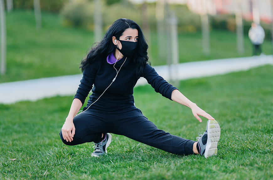 Thumbnail for 6 Face Masks for Working Out, Straight From Activewear Brands