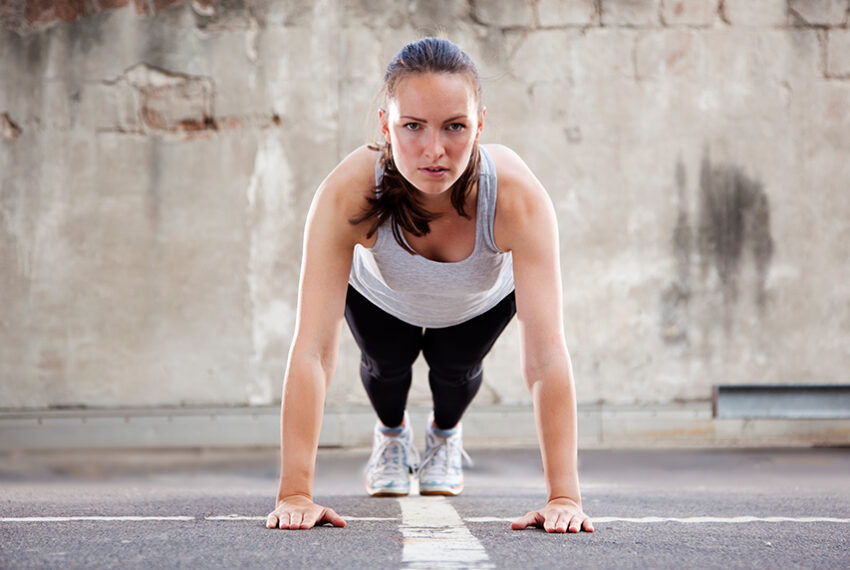 The Beloved Burpee Really Makes Sense When You Break Down the Movements Step-by-Step