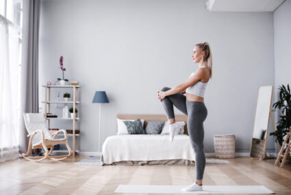 This 20-minute stretch routine will loosen every bit of WFH-induced tightness in your body