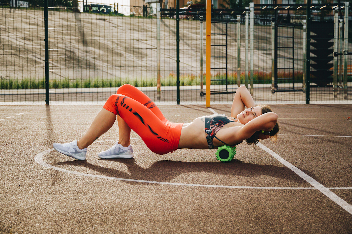 Thumbnail for 6 next-level foam rollers that nix achey muscles with heat, vibration, and so much more