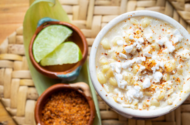 The Best Way to Cook Corn Is in the Microwave—and This Zesty, Healthy Elote Proves It